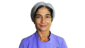 Massage therapist Barbara Palloni